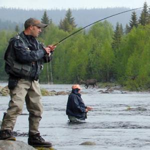 fiskare o älg